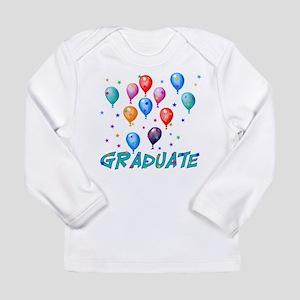Graduation Balloons Long Sleeve Infant T-Shirt