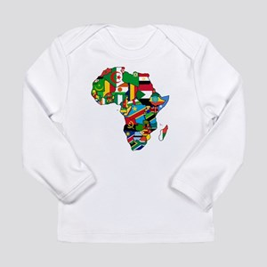 Flags of Africa Long Sleeve Infant T-Shirt