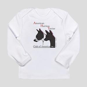 American Hairless Terrier Logo Long Sleeve T-Shirt