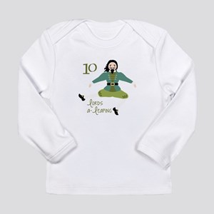 10 loRDS a- leaPiNG Long Sleeve T-Shirt