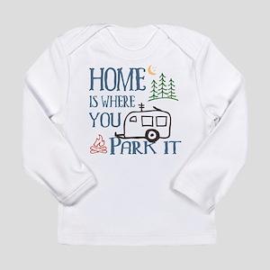 Camper Home Long Sleeve Infant T-Shirt