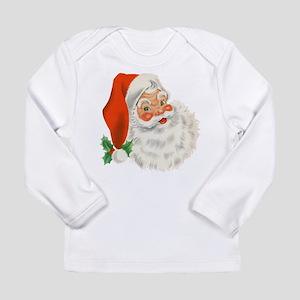 Vintage Santa Long Sleeve T-Shirt