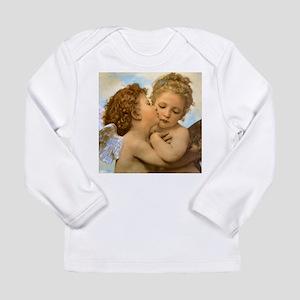 First Kiss by Bouguereau Long Sleeve Infant T-Shir