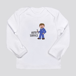 AUTO SERVICE Long Sleeve T-Shirt