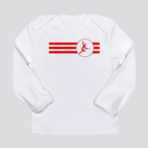 Fencer Stripes (Red) Long Sleeve T-Shirt