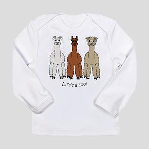 Alpaca Long Sleeve Infant T-Shirt