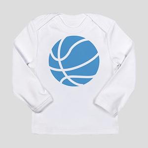 Basketball Carolina Blu Long Sleeve Infant T-Shirt