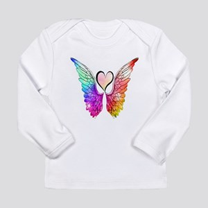 Angel Wings Heart Long Sleeve T-Shirt