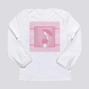 pink pregnancy Long Sleeve T-Shirt