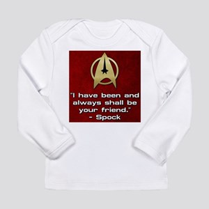 SPOCK YOUR FRIEND Long Sleeve T-Shirt