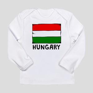 Hungary Flag Long Sleeve T-Shirt