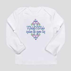 Volleyball Fun Long Sleeve Infant T-Shirt