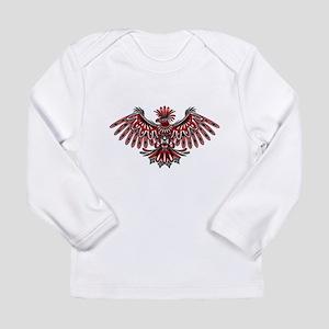 Eagle Tattoo Style Haida Art Long Sleeve T-Shirt