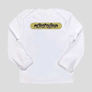 Metro Paris, France Long Sleeve Infant T-Shirt