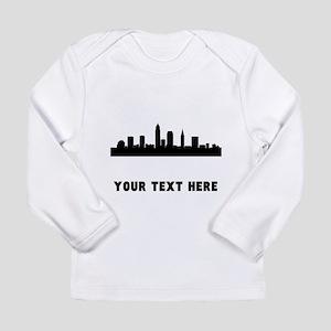 Cleveland Cityscape Skyline (Custom) Long Sleeve T