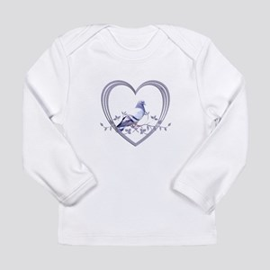 Pigeon in Heart Long Sleeve Infant T-Shirt