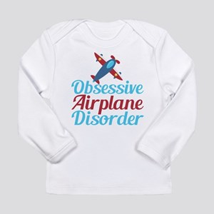 Cool Airplane Long Sleeve Infant T-Shirt