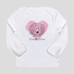 KiniArt Doodle Mom Long Sleeve Infant T-Shirt