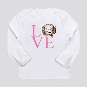 KiniArt Doodle Love Long Sleeve Infant T-Shirt