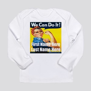 Rosie the Riveter We Can Do It Long Sleeve T-Shirt
