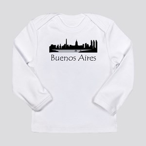 Buenos Aires Argentina Cityscape Long Sleeve T-Shi