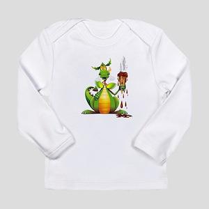 Fun Dragon with Ice Cream Long Sleeve T-Shirt