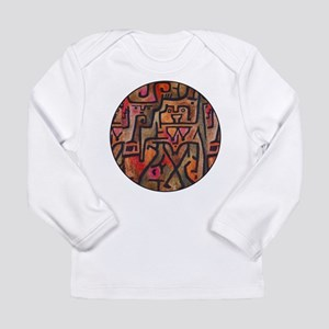 Paul Klee Red Nature Abstract Forest Long Sleeve T