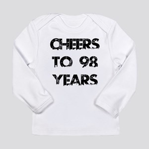 Cheers To 98 Years Desi Long Sleeve Infant T-Shirt