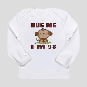 Hug Me I Am 98 Long Sleeve Infant T-Shirt