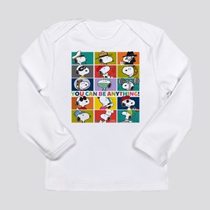 Snoopy-You Can Be Anyth Long Sleeve Infant T-Shirt