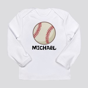 Personalized Baseball Sports Long Sleeve T-Shirt