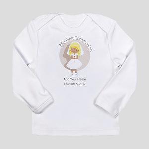 First Communion Blonde Long Sleeve Infant T-Shirt