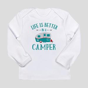 Life's Better Camper Long Sleeve Infant T-Shirt