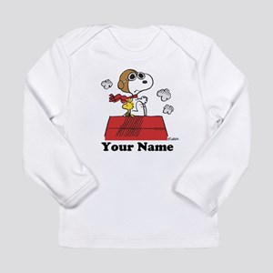 Peanuts Flying Ace Pers Long Sleeve Infant T-Shirt