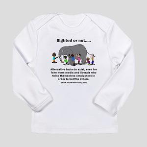 Alternative Facts do ex Long Sleeve Infant T-Shirt