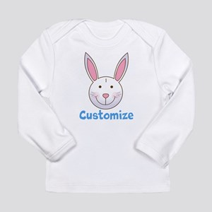Custom Easter Bunny Long Sleeve Infant T-Shirt