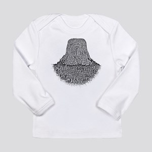 B@W Devils Tower Long Sleeve Infant T-Shirt