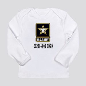 US Army Star Long Sleeve Infant T-Shirt