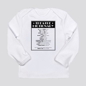 Theatre Dictionary Long Sleeve Infant T-Shirt