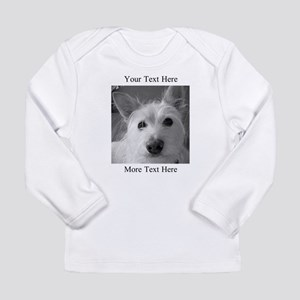 Your Text and Your Photo Here Long Sleeve T-Shirt