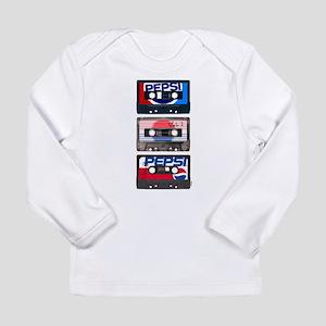 Pepsi Flashback Tapes Long Sleeve Infant T-Shirt