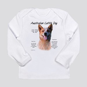 Cattle Dog (red) Long Sleeve Infant T-Shirt