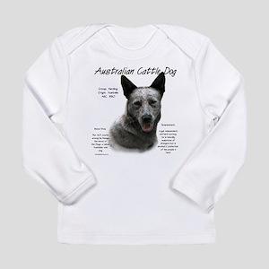 Cattle Dog (blue) Long Sleeve Infant T-Shirt