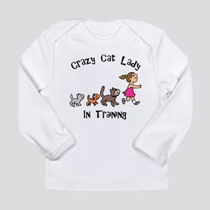 Crazy Cat Lady In Training Long Sleeve Infant T-Sh