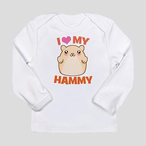 I Love My Hammy Long Sleeve Infant T-Shirt