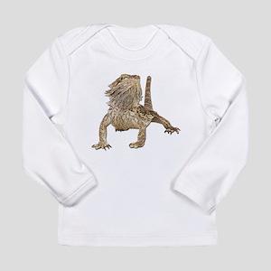 Bearded Dragon Photo Long Sleeve Infant T-Shirt