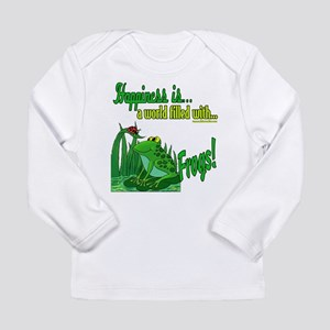 Happiness is a Frog Long Sleeve Infant T-Shirt
