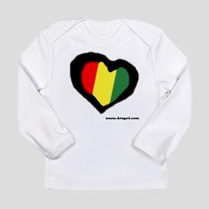 Rasta Heart Long Sleeve T-Shirt