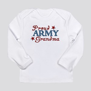 Army Grandma (collage) Long Sleeve Infant T-Shirt