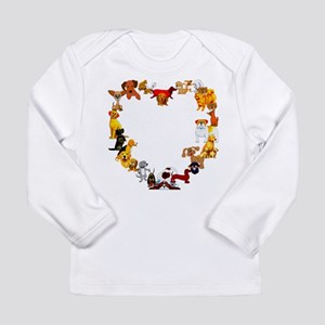 Dog Love Long Sleeve Infant T-Shirt